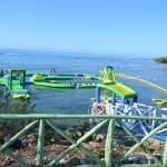 Parque inflable acuático. Delfinario Cienfuegos