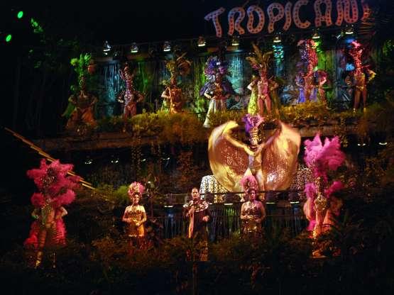 Espectáculo del Cabaret Tropicana